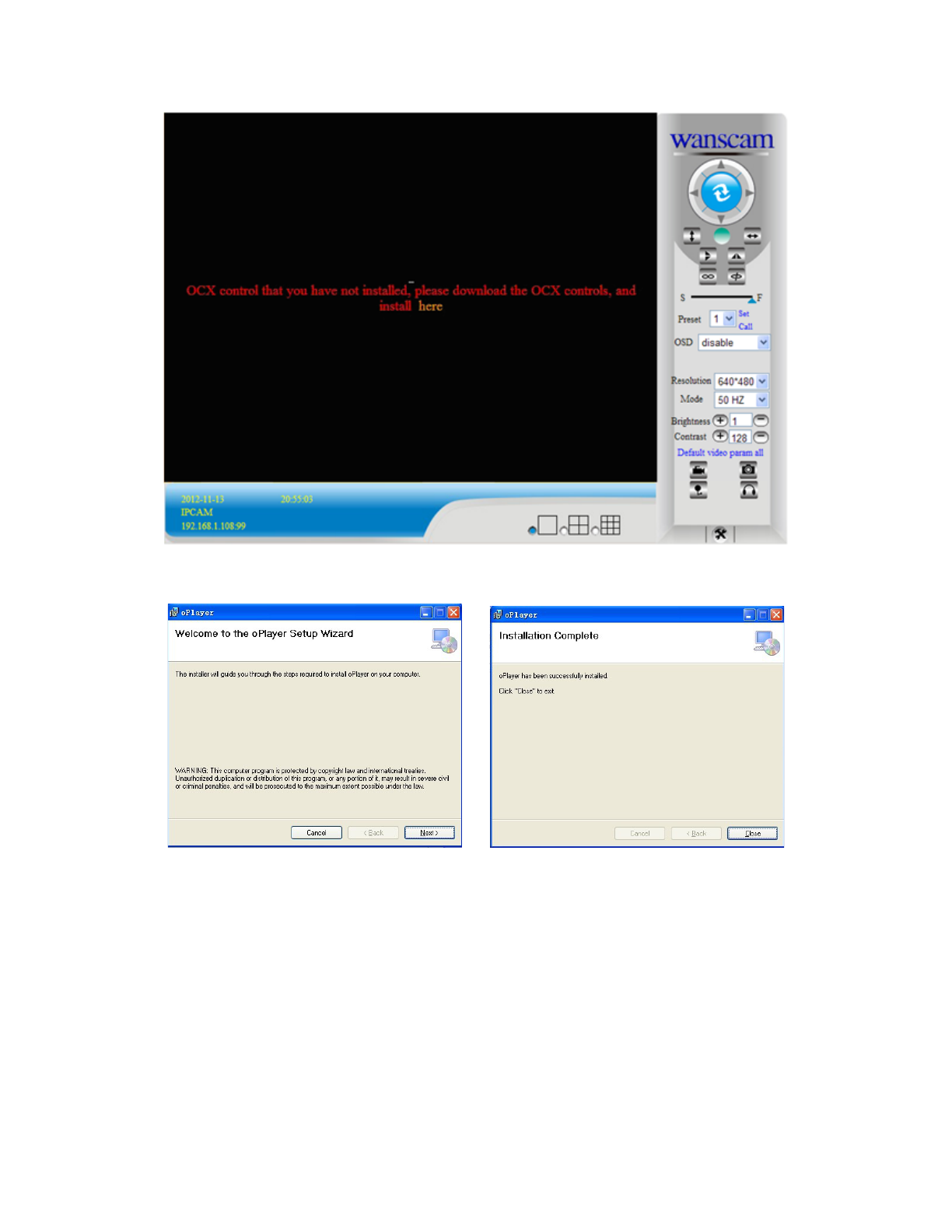 download ocx setup wanscam