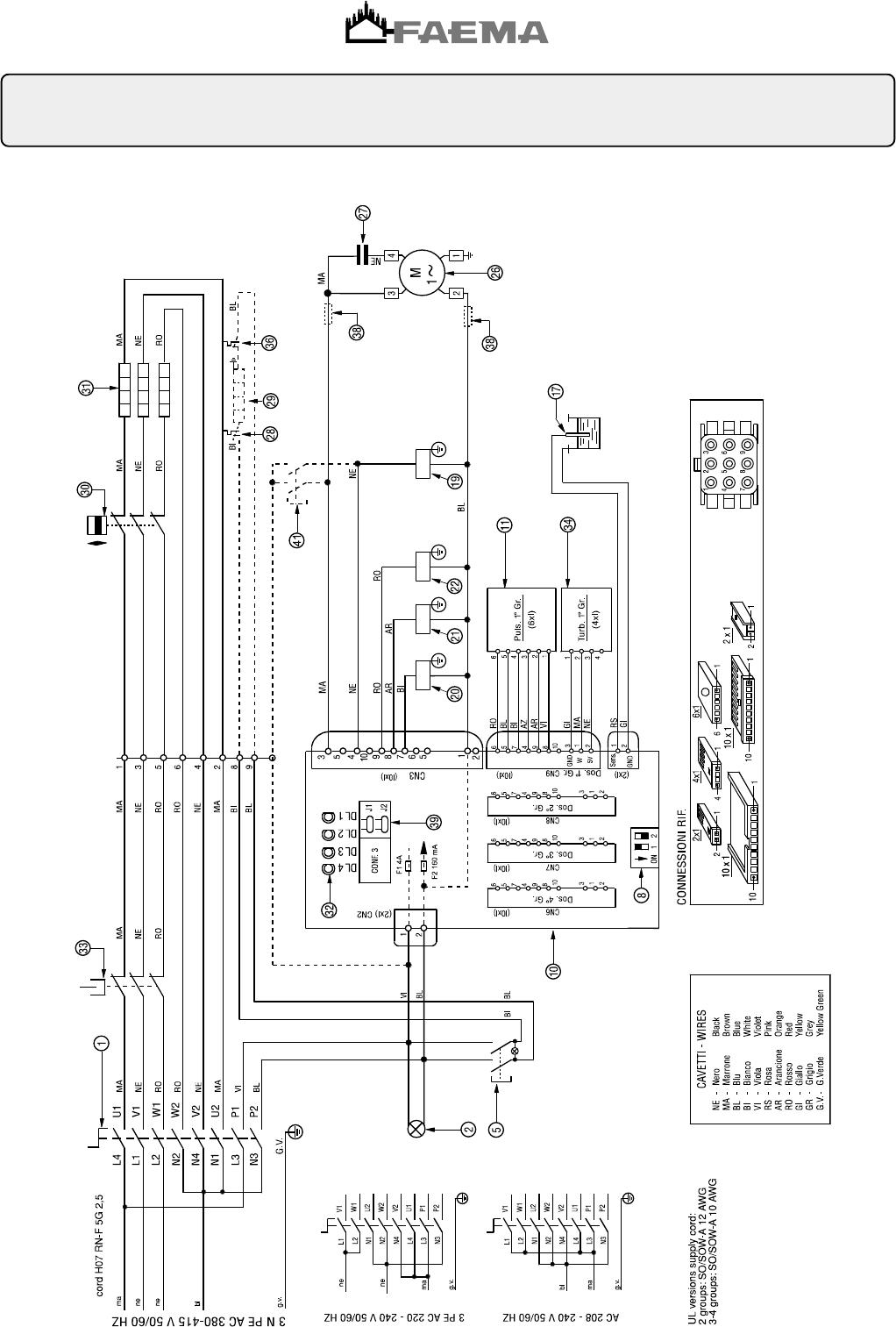 Handleiding Faema Due A (pagina 28 van 33) (Deutsch, English ...
