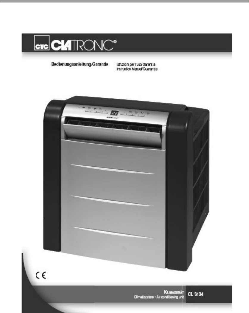 Clatronic airco cl 3134