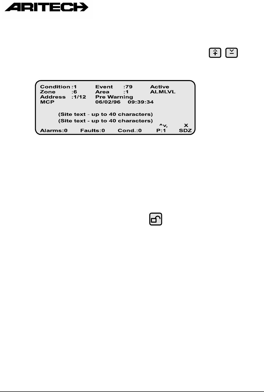 handleiding aritech fp1200 pagina 18 van 21 english rh gebruikershandleiding com aritech fp1200 installation manual aritech fp1200 installation manual