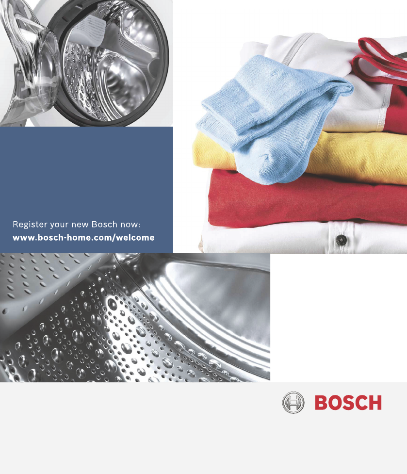 handleiding bosch waw32472 (pagina 1 van 44) (deutsch) ~ Waschmaschine Notentleerung