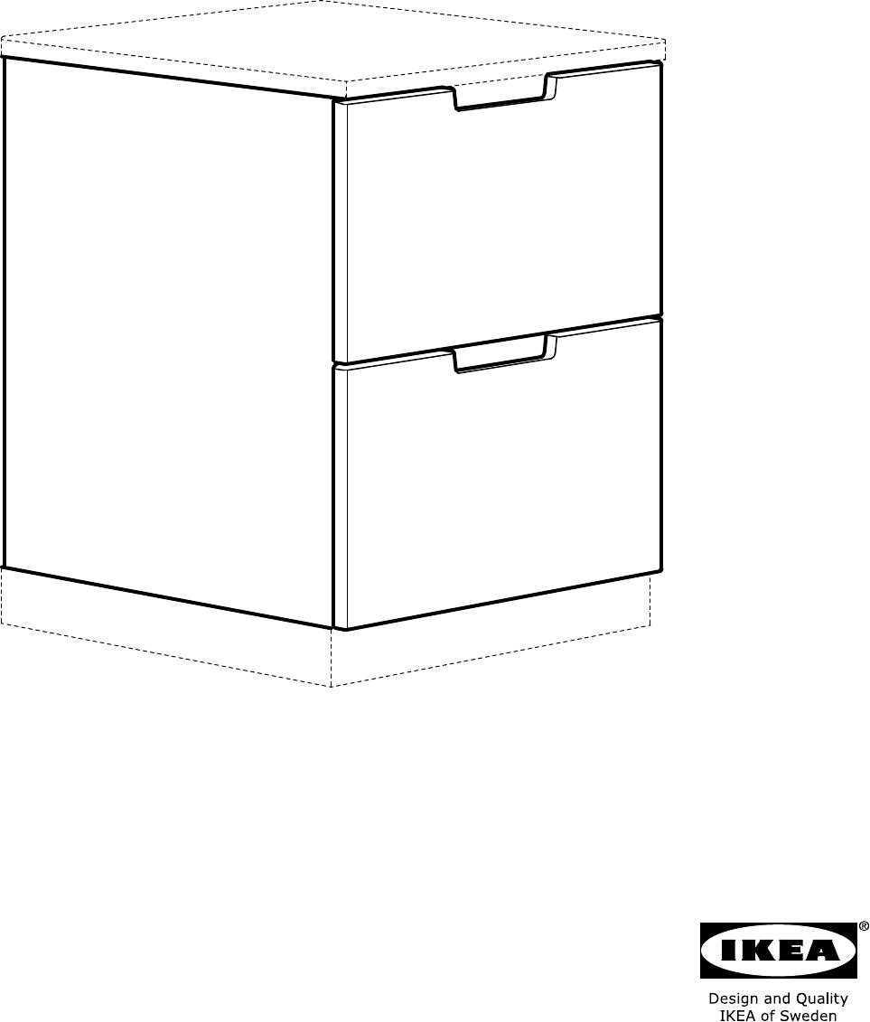 Nordli Ladekast Ikea.Handleiding Ikea Nordli Ladekast Pagina 1 Van 12 Alle Talen