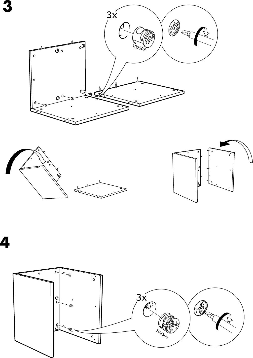 Nordli Ladekast Ikea.Handleiding Ikea Nordli Ladekast Pagina 5 Van 12 Alle Talen