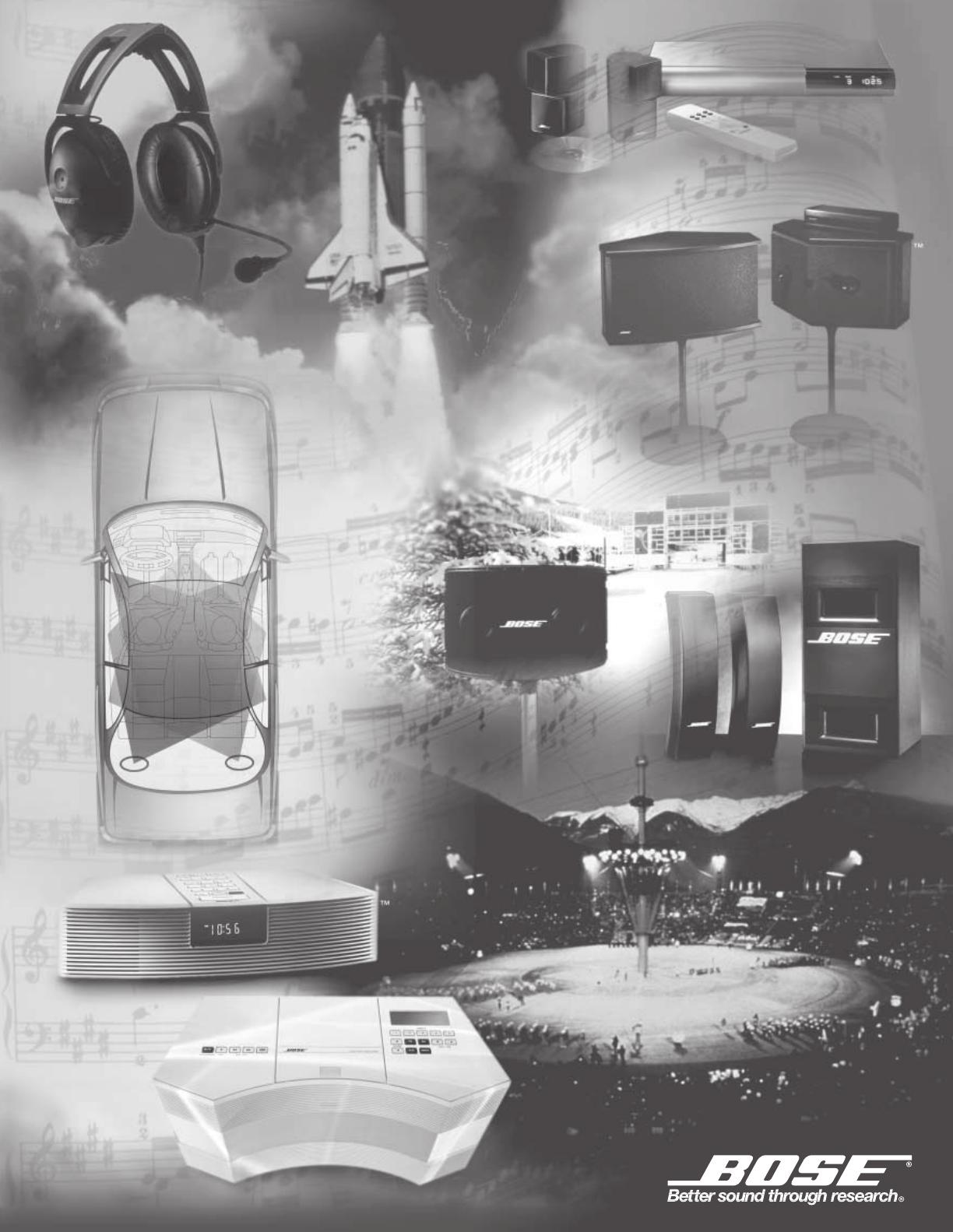 Handleiding bose wave radio cd pagina 28 van 30 english 2000 bose corporation the mountain framingham ma 01701 9168 usa publicscrutiny Image collections