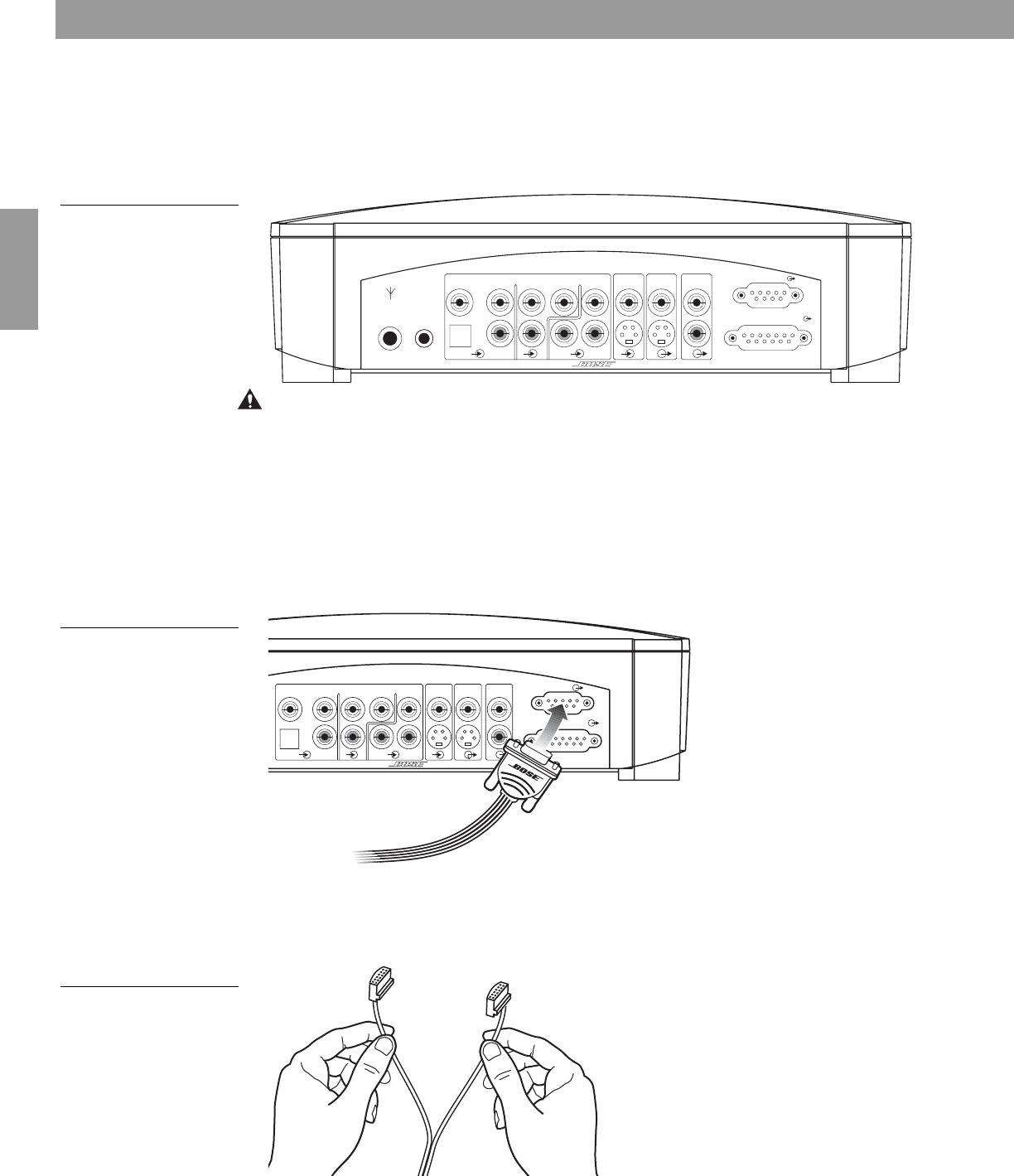 Handleiding Bose 321 GS serie 1 (pagina 14 van 64) (Deutsch)