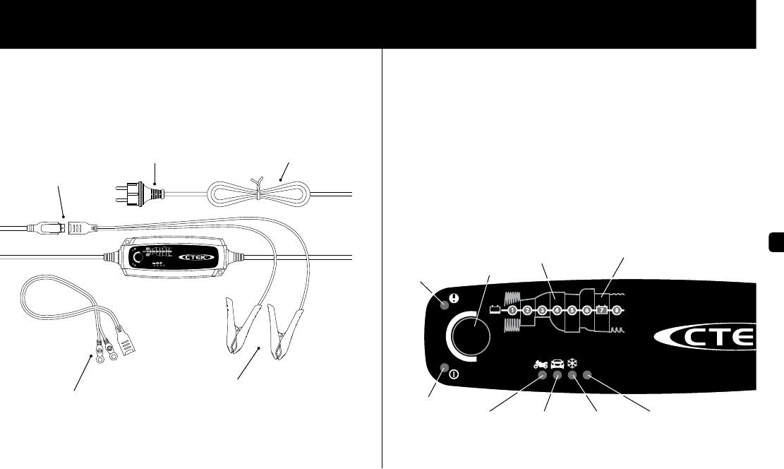 handleiding ctek mxs 5 0 pagina 1 van 6 nederlands. Black Bedroom Furniture Sets. Home Design Ideas