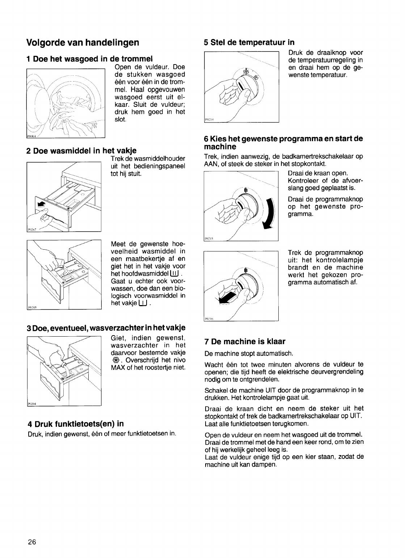 Handleiding Zanussi fl 1022 c (pagina 14 van 15) (Nederlands)