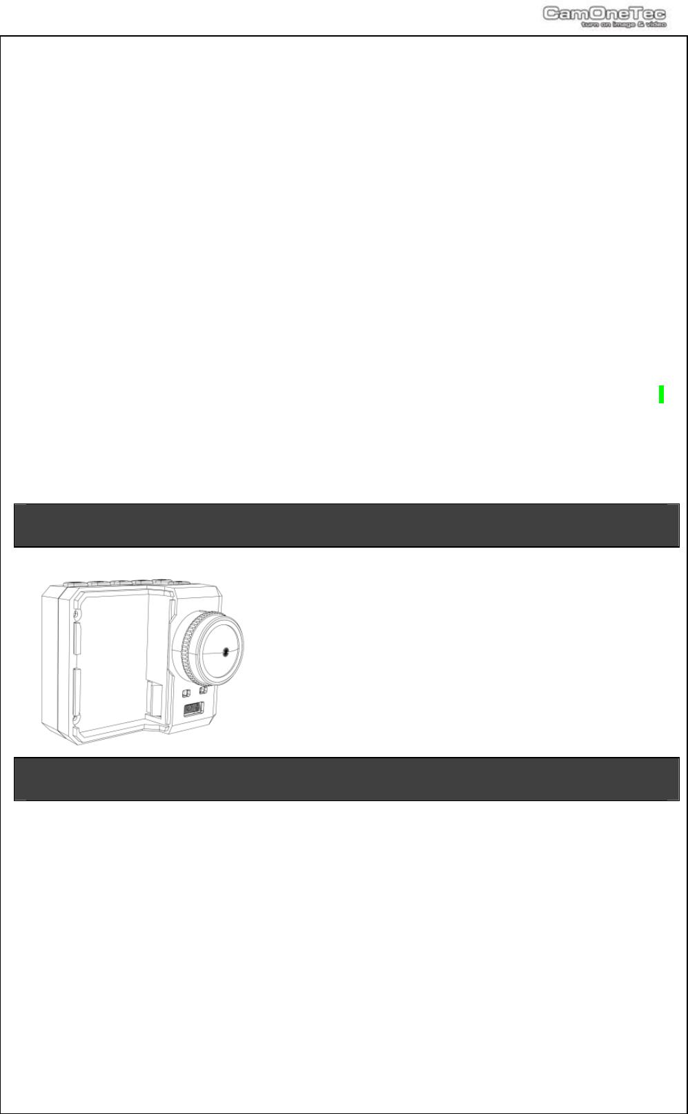 Handleiding Camone Infinity Pagina 1 Van 16 English