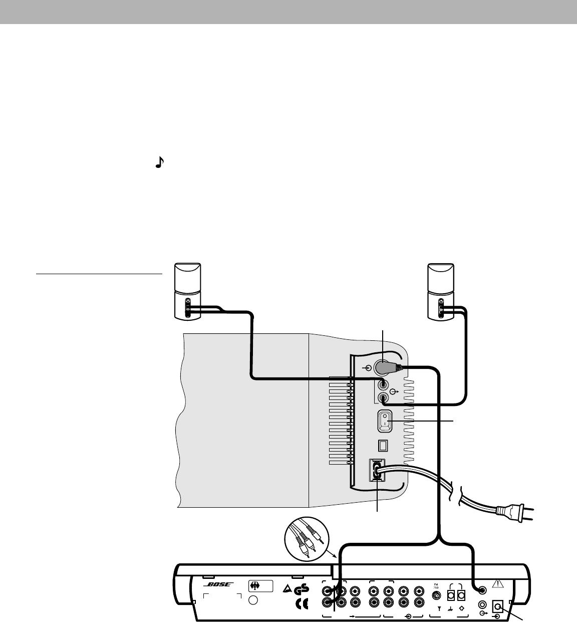 [SCHEMATICS_49CH]  Handleiding Bose lifestyle 5 series II (pagina 11 van 28) (English)   Bose Lifestyle 28 Wiring Diagram      Gebruikershandleiding.com