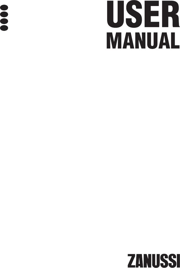 Voorkeur Handleiding Zanussi ZDP7203P (pagina 1 van 60) (Deutsch, English PE92
