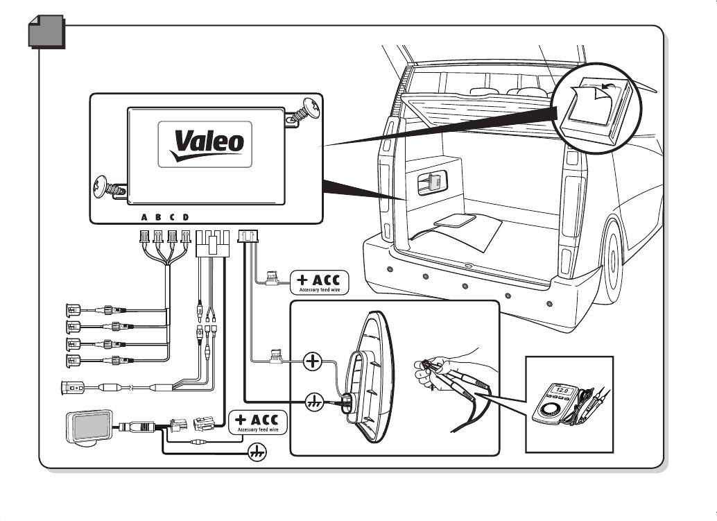 handleiding valeo beep and park vision pagina 62 van 72. Black Bedroom Furniture Sets. Home Design Ideas