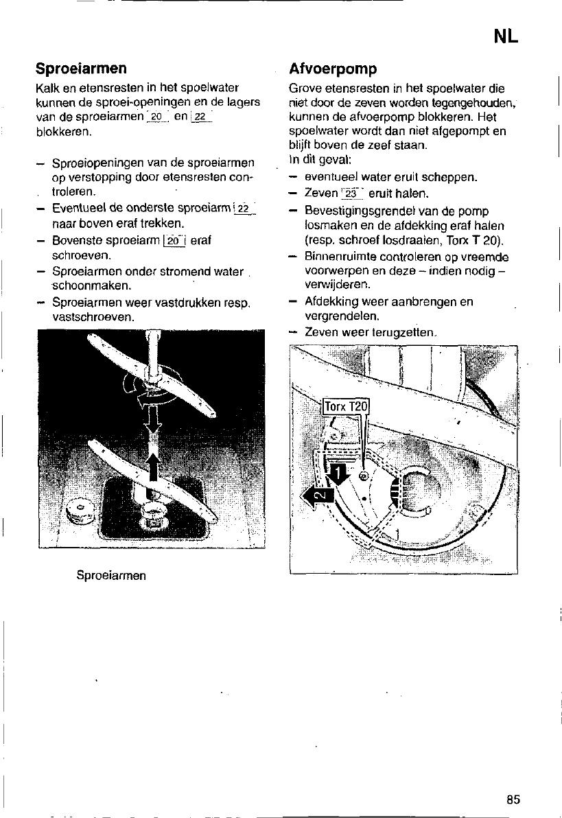 Beroemd Handleiding Siemens se 64530 (pagina 85 van 95) (Deutsch, English XT58