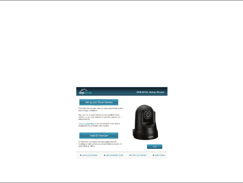 Handleiding D-Link DCS-5010L - mydlink Home Monitor 360 (pagina 12