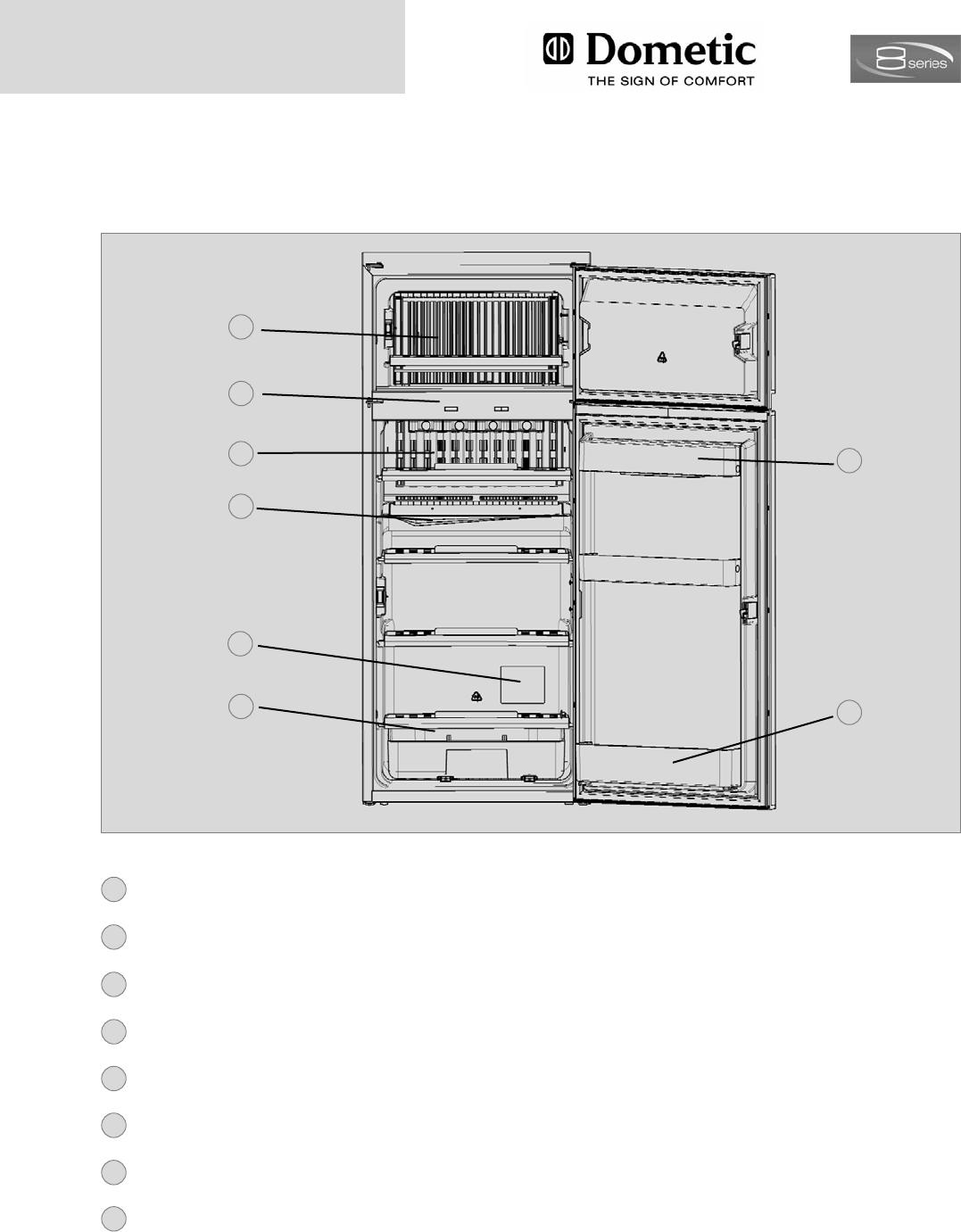 handleiding dometic rmd 8505 pagina 12 van 26 nederlands. Black Bedroom Furniture Sets. Home Design Ideas