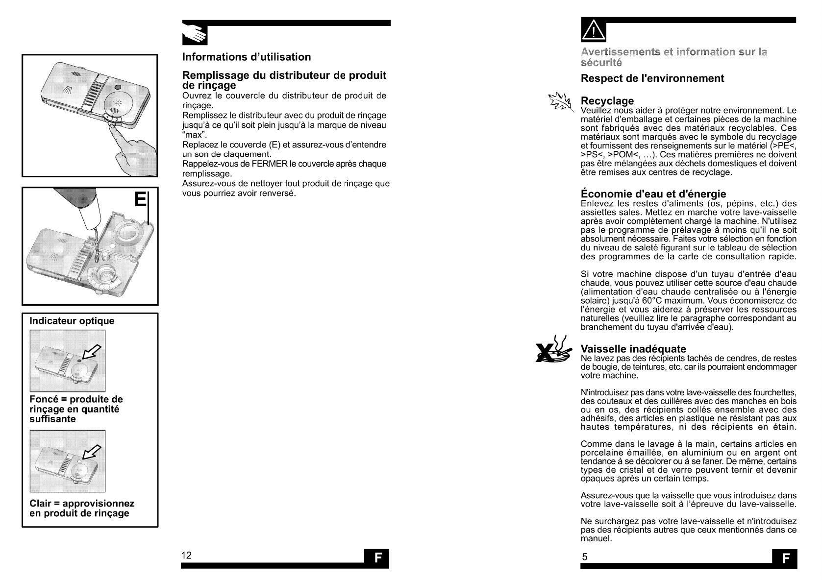 Quel Est Le Temps De Lavage D Un Lave Vaisselle handleiding beko d 8879 (pagina 10 van 12) (français)