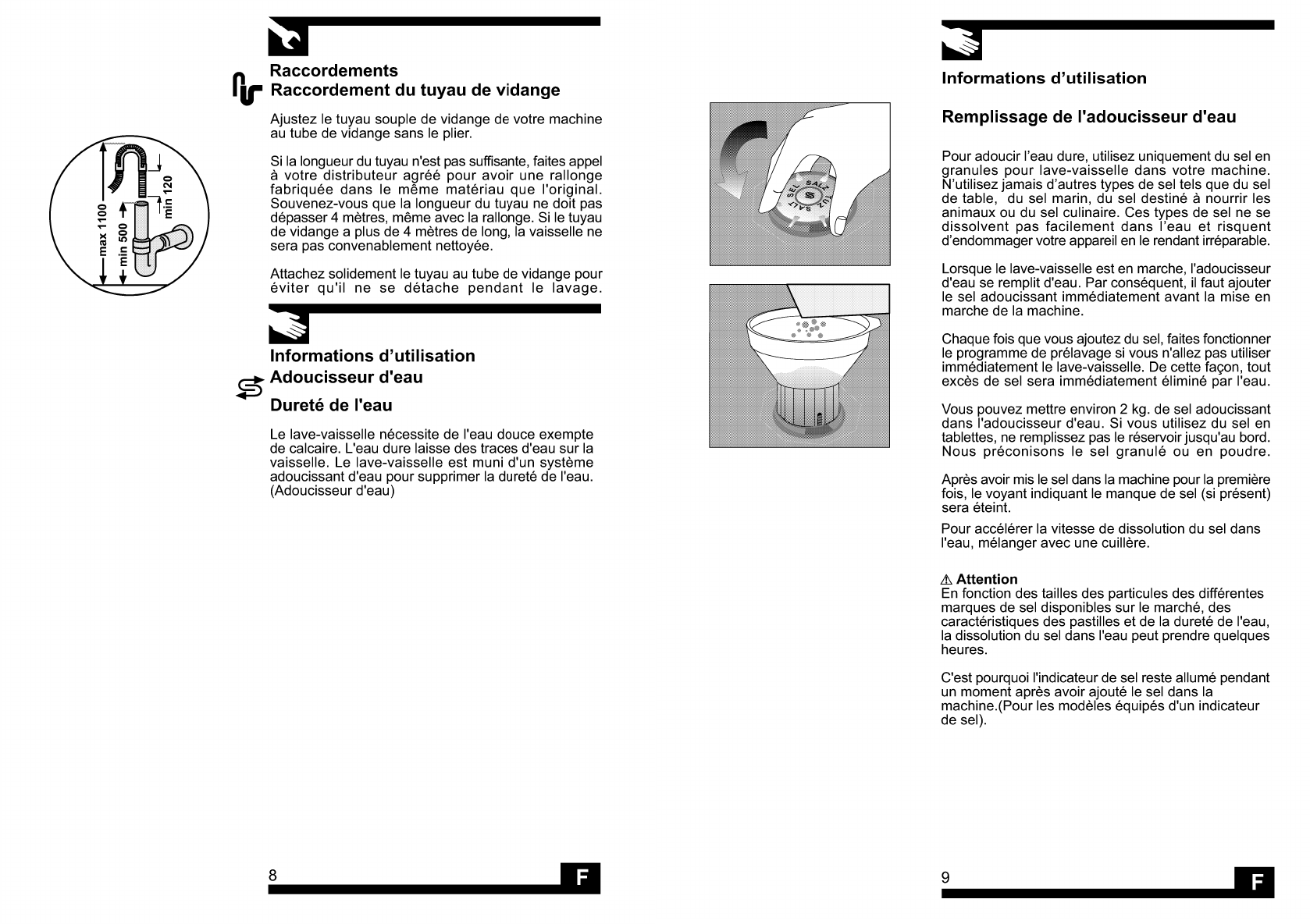 Handleiding Beko D 8879 Fd Pagina 11 Van 12 Francais