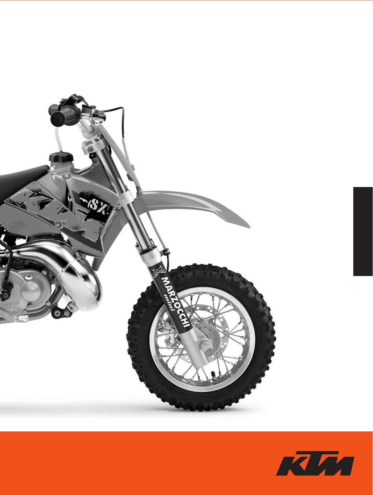 handleiding ktm 50 sx junior pagina 1 van 42 english rh gebruikershandleiding com KTM 50 Junior Specs KTM 50 SX Clutch