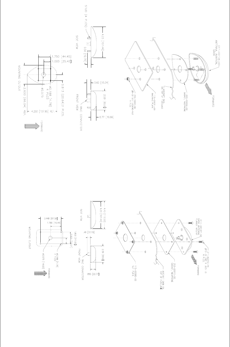 Handleiding Garmin Gns 430 Pagina 25 Van 124 English Wiring Diagram 400 Series Installation Manual Page 3 9 10 Blank