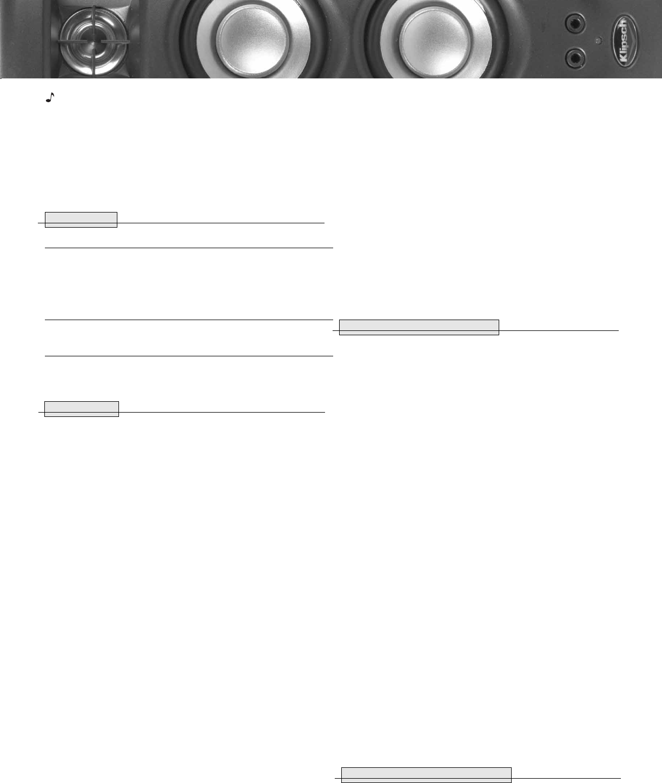 Handleiding Klipsch Promedia Ultra 20 Pagina 3 Van 4 English 2 1 Wiring Diagram
