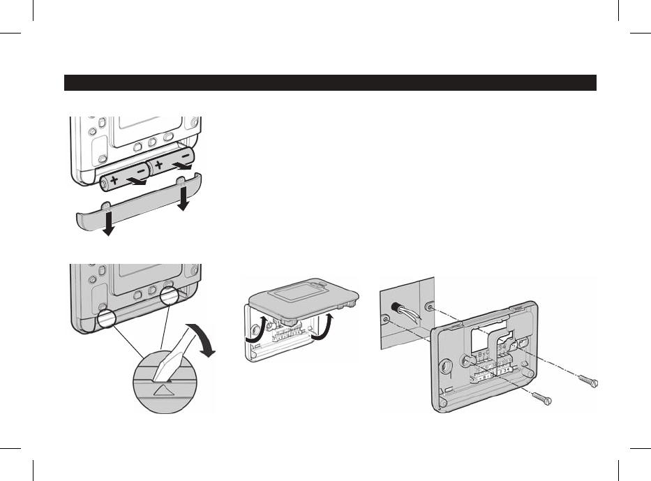 Handleiding Honeywell THR870CBG - Homexpert (pagina 18 van 34) (Deutsch)