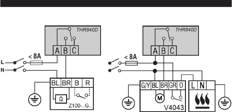 Handleiding Honeywell THR840D - Homexpert (pagina 18 van 28) (Deutsch)