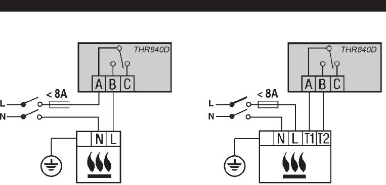 Handleiding Honeywell THR840D - Homexpert (pagina 15 van 28) (Deutsch)