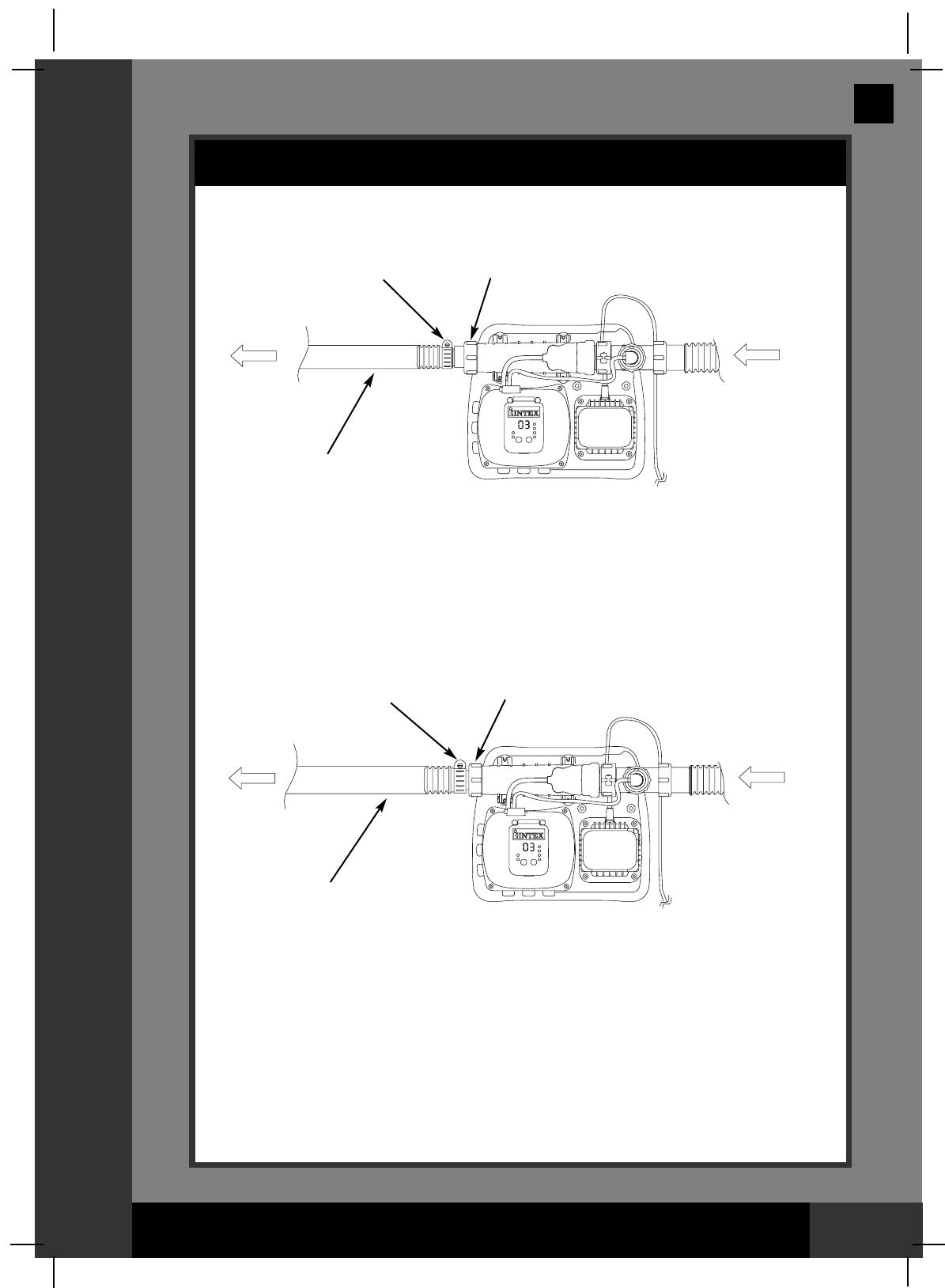 Handleiding Intex 8110 Krystal Clear De Luxe Pagina 12 Van 31 Pool Pump Wiring Diagram English