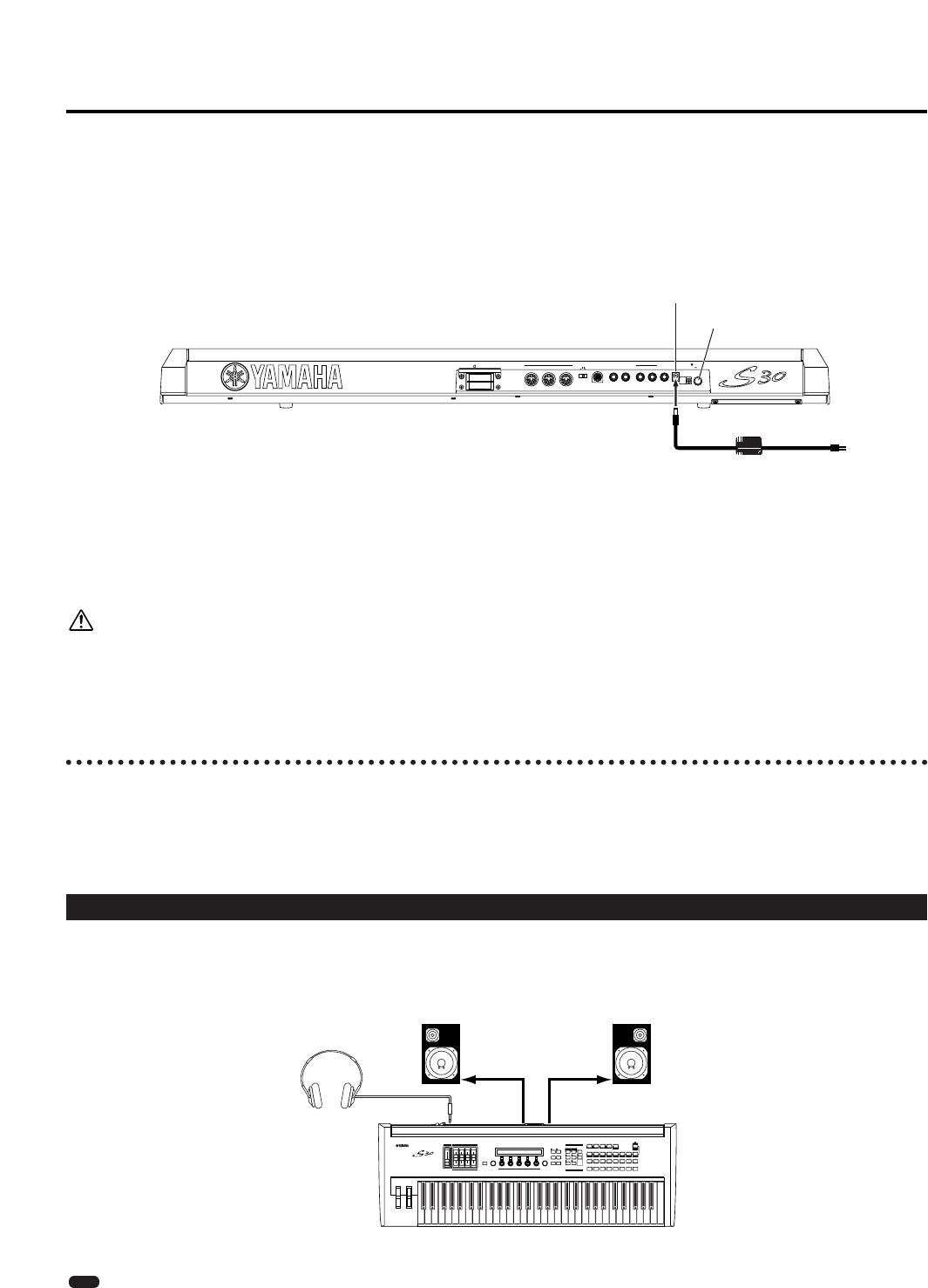 Handleiding Yamaha S30 (pagina 9 van 152) (Espanõl)