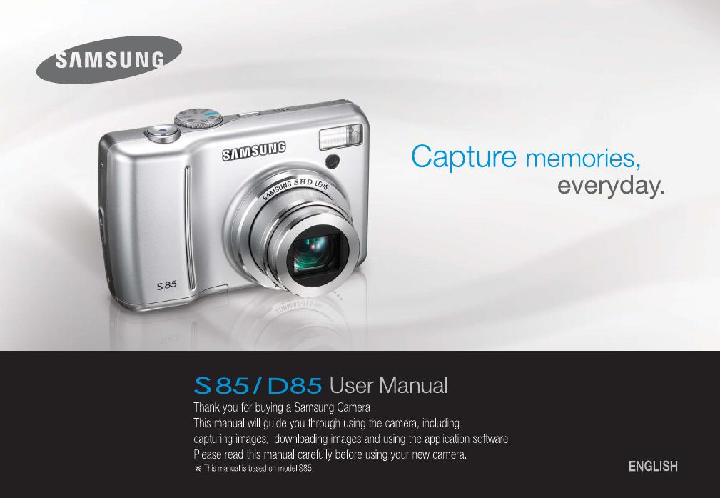 handleiding samsung digimax s85 pagina 1 van 110 english rh gebruikershandleiding com Samsung Power Adapter Samsung AC Adapter