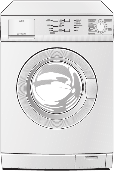 Aeg lavamat 52600 storing