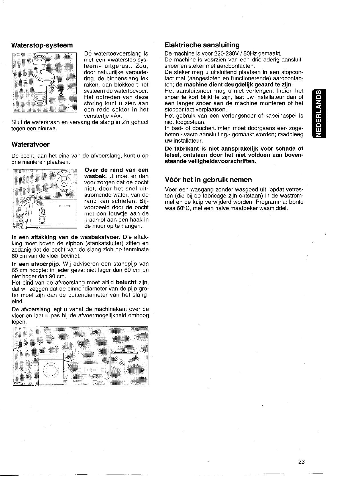 Handleiding Zanker Lf 2540 Lavita Pagina 5 Van 18 Nederlands