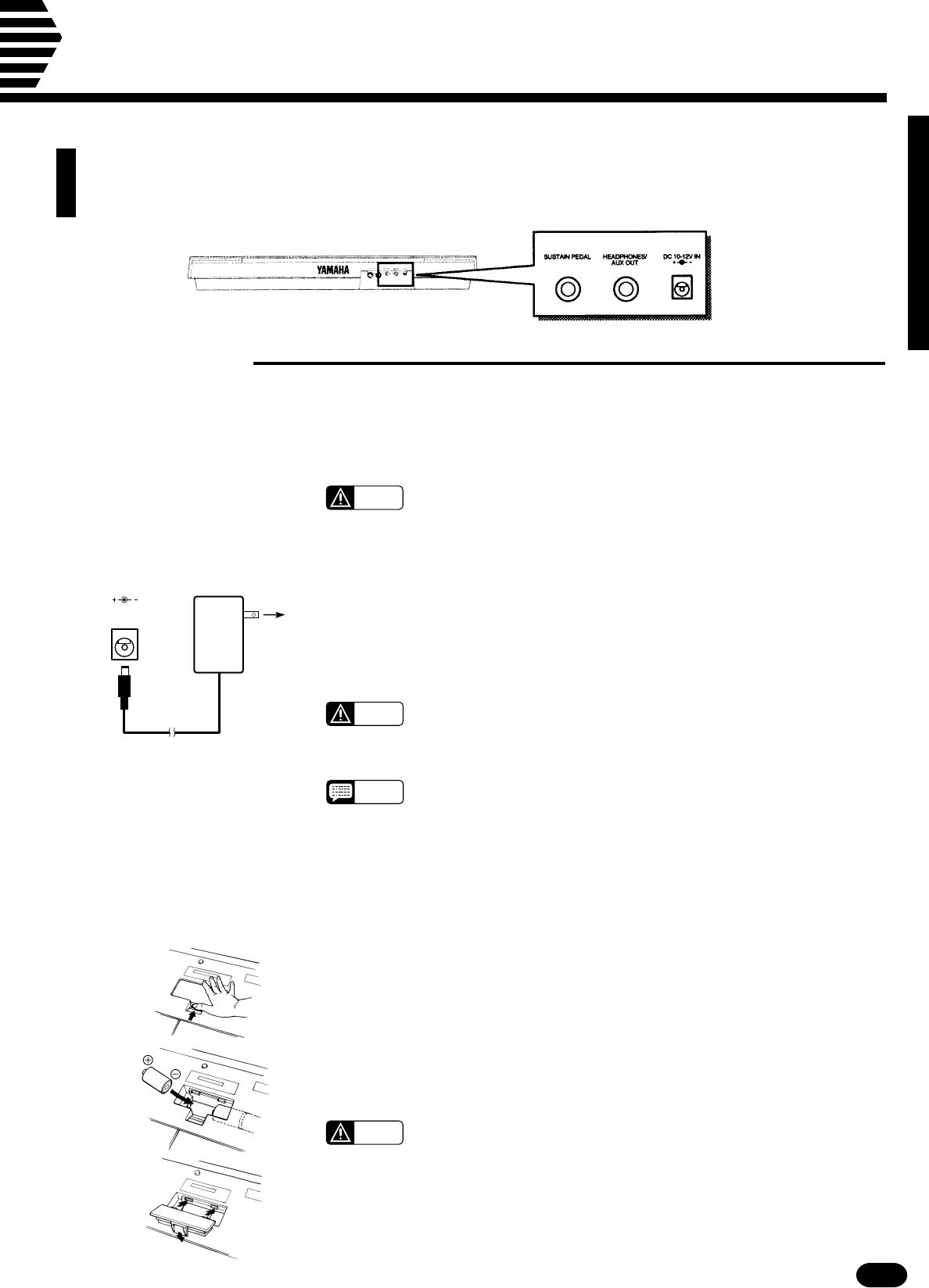 Handleiding Yamaha Psr 510 Pagina 5 Van 77 English Fc5 Pedal Wiring Diagram