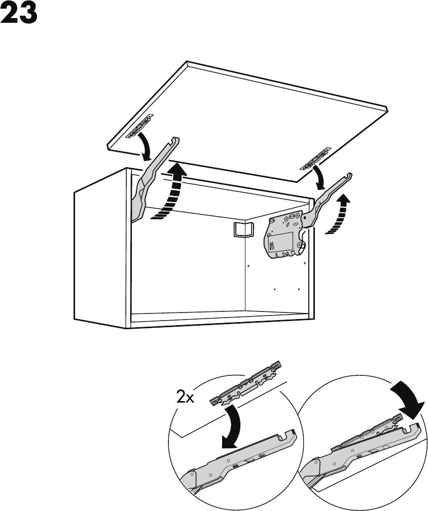 Keuken Gereedschap Ikea : Handleiding Ikea hangkast horizontaal (pagina 23 van 28) (Nederlands)