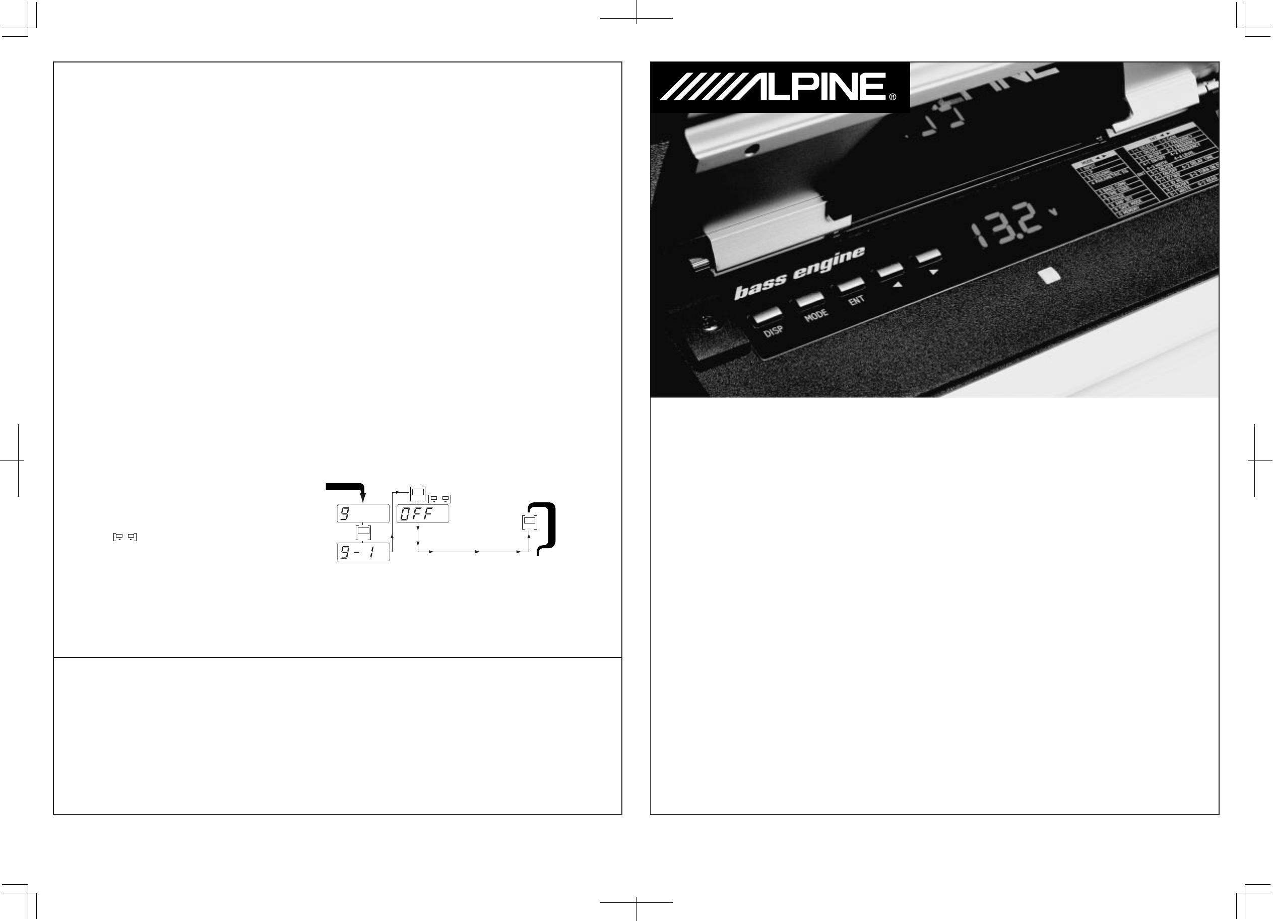 Handleiding Alpine mrd m 500 (pagina 23 van 24) (Deutsch, English ...